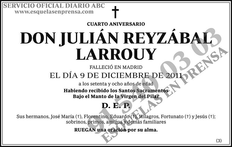 Julián Reyzábal Larrouy